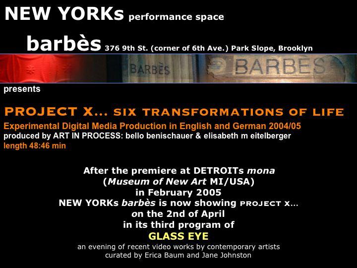 Plakat Project X:
