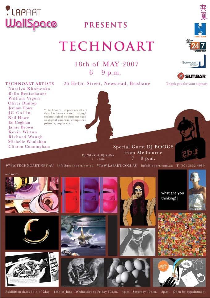 poster Technoart: